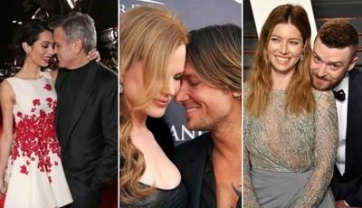 Casais de Hollywood que provam que o amor ainda existe