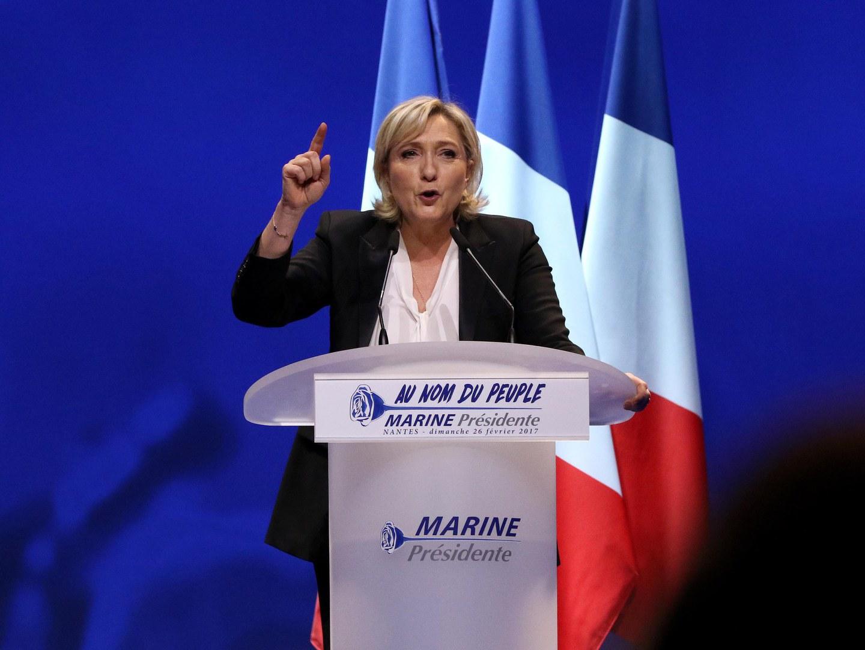 """Le Pen foi clara: Com ela a Presidente, a União Europeia """"vai morrer"""""""