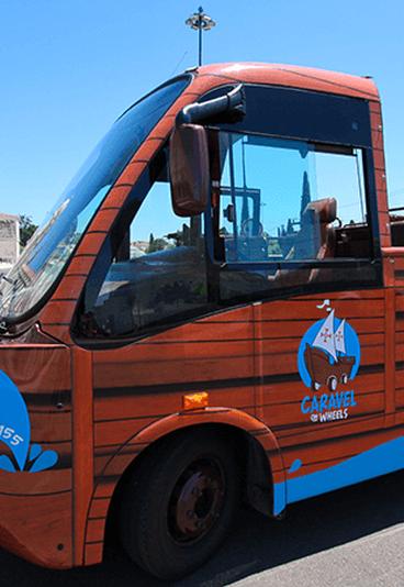 Caravel on Wheels: ganhe 1 dos 5 vouchers que temos para oferecer