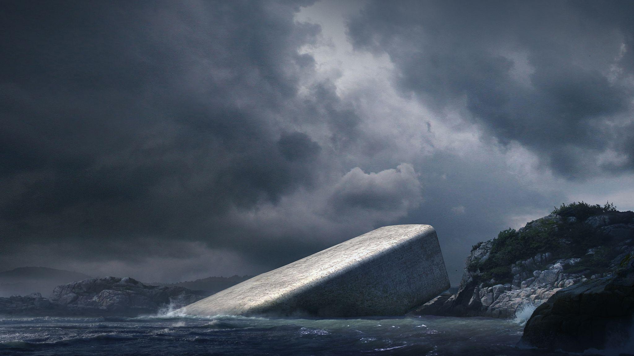 O primeiro restaurante europeu debaixo de água está a chegar
