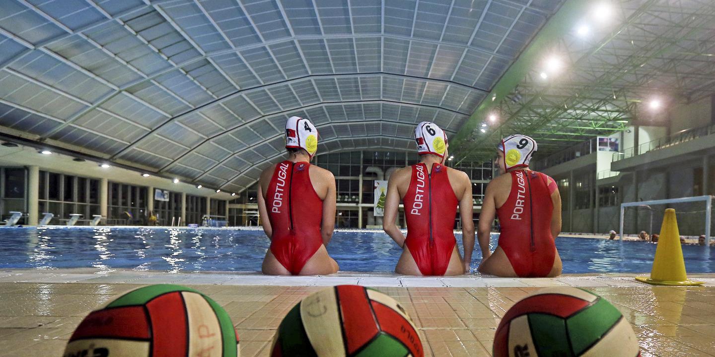 Seleção feminina de pólo aquático prepara em Matosinhos 'play-off' do Europeu