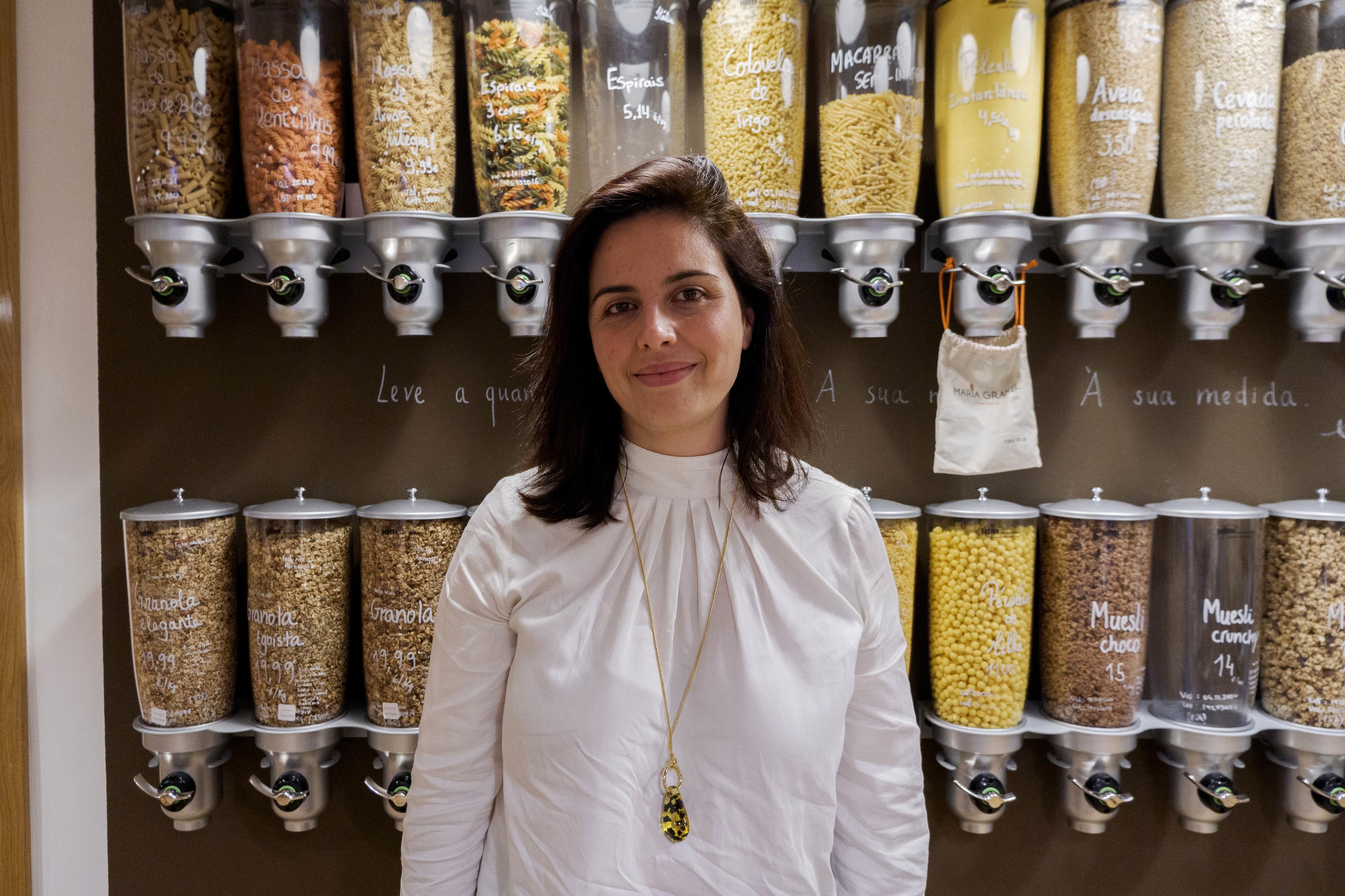 """Eunice Maia, criadora da Maria Granel: """"Tenho uma loja, mas não incentivo ao consumo"""""""