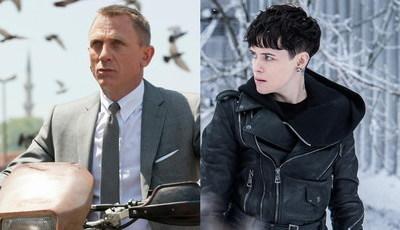 De Bond a Lisbeth Salander: mesma saga, mesma personagem... atores diferentes