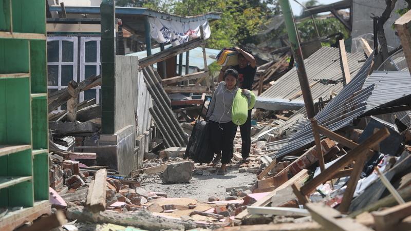 Sismo de 6,3 atinge a ilha de Lombok, na Indonésia, o quarto em menos de um mês