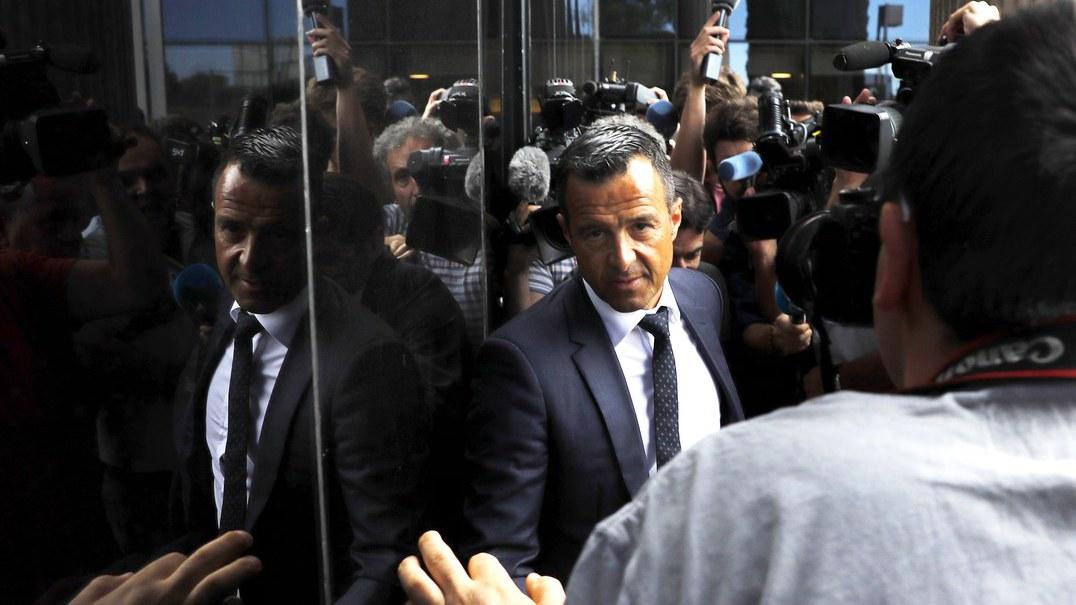 Fisco exige nove milhões de euros a empresas de Jorge Mendes