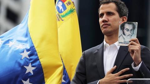 Juan Guaidó, o 'outsider' que se proclamou presidente interino da Venezuela