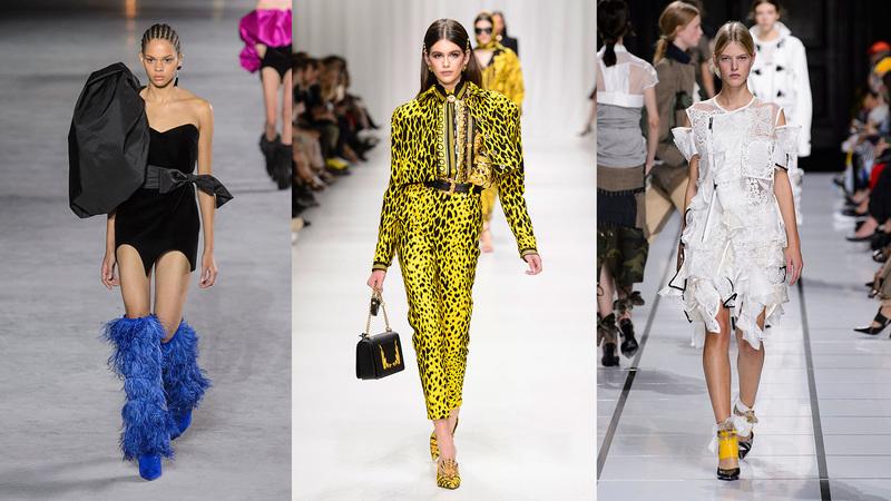 Cinco mini tendências de moda para seguir na próxima primavera-verão