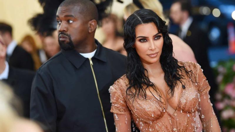 Kim Kardashian quer morar longe de Kanye West para evitar o divórcio