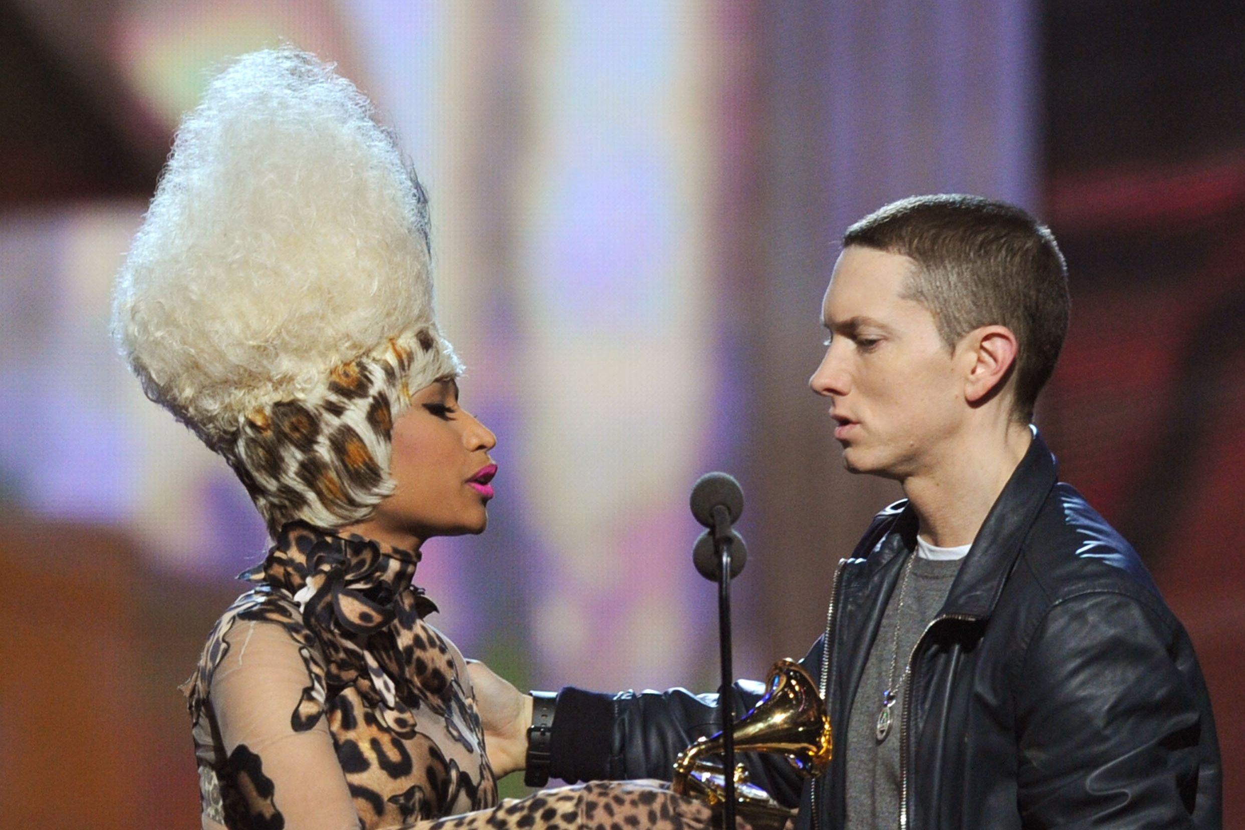 Afinal, 'namoro' de Nicki Minaj e Eminem foi um golpe de marketing