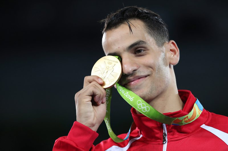 Ahmad Abughaush recebido como herói na Jordânia pelo ouro olímpico