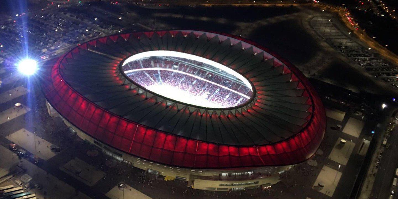 Wanda Metropolitano. O novo estádio do Atlético Madrid é lindo
