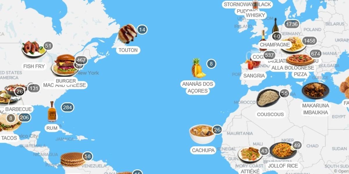 Portugal tem mais de 200 pratos e produtos no atlas mundial da alimentação