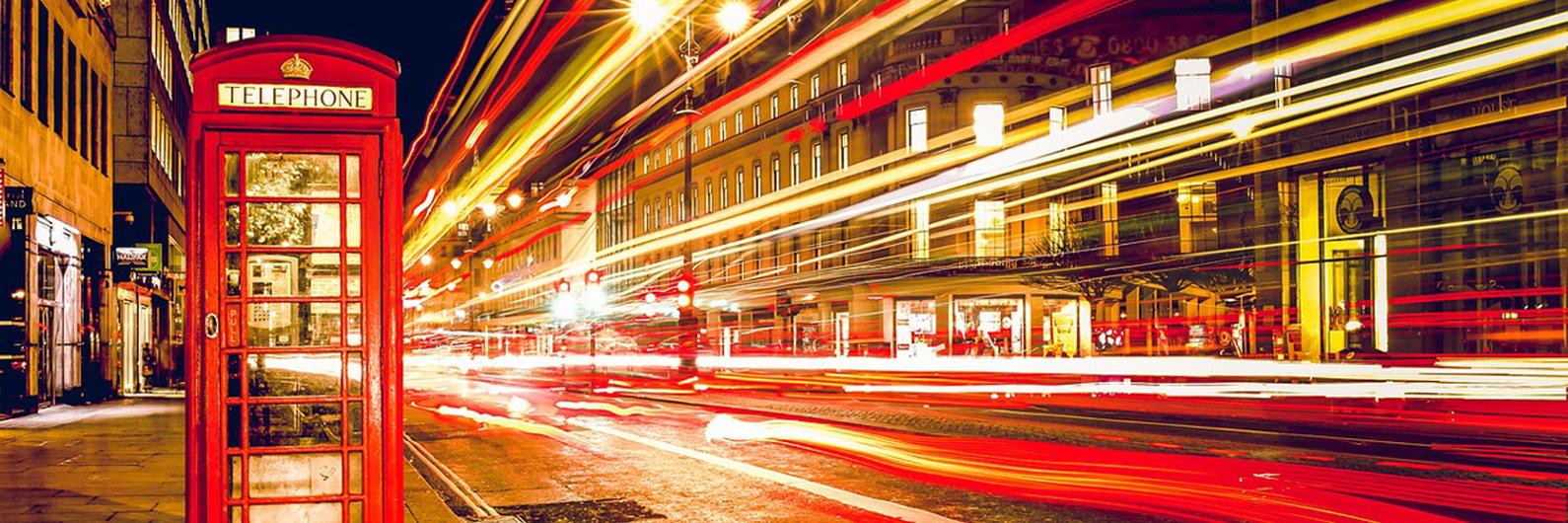 Deslumbre-se com a vibrante capital inglesa