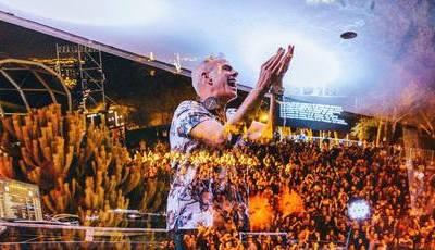 Fatboy Slim deu espetáculo surpresa no Festival Iminente