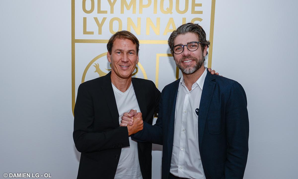 Oficial: Rudi Garcia é o novo treinador do Lyon