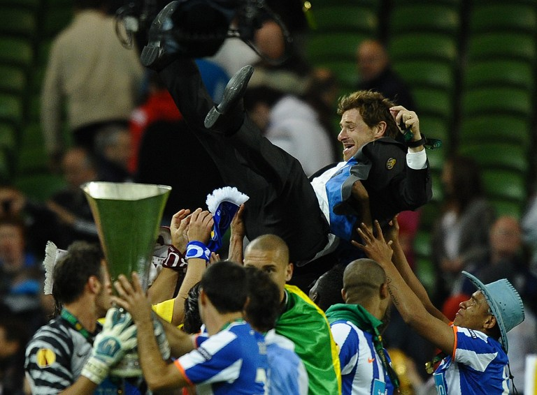 "Villas Boas recorda Porto ""pornográfico"" que ganhou a Liga Europa"