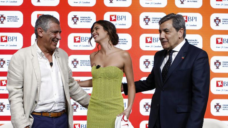 Sara Sampaio e Fernando Santos sentaram-se para falar de futebol