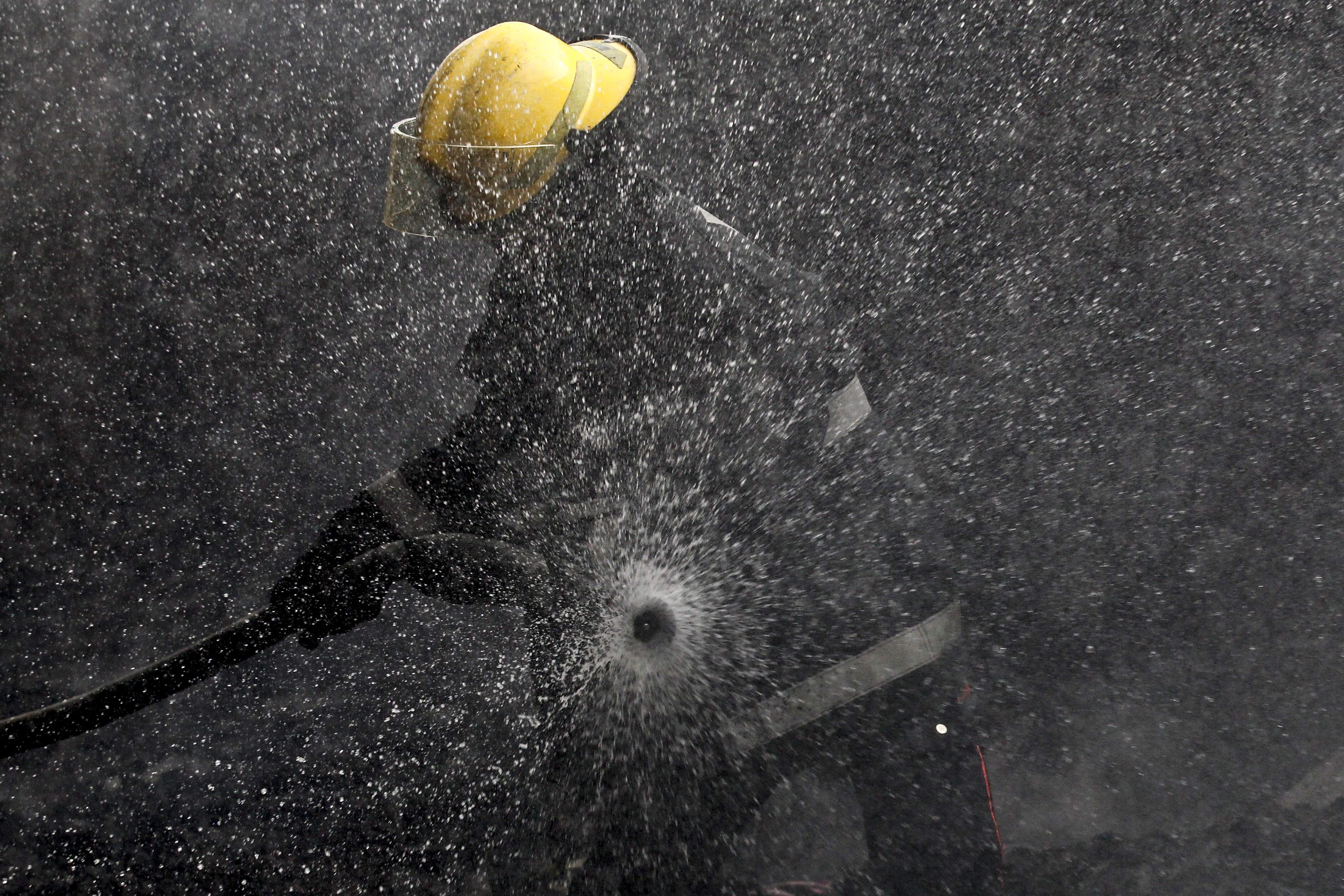 Fogo em Redondo desaloja quatro pessoas