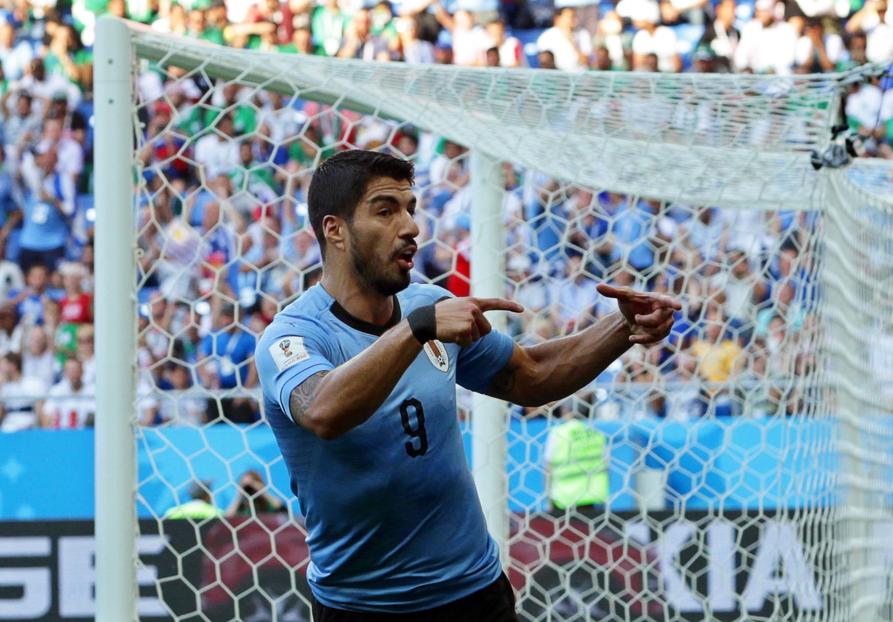 Os números do Uruguai – Arábia Saudita: Suárez foi o MVP num dia histórico