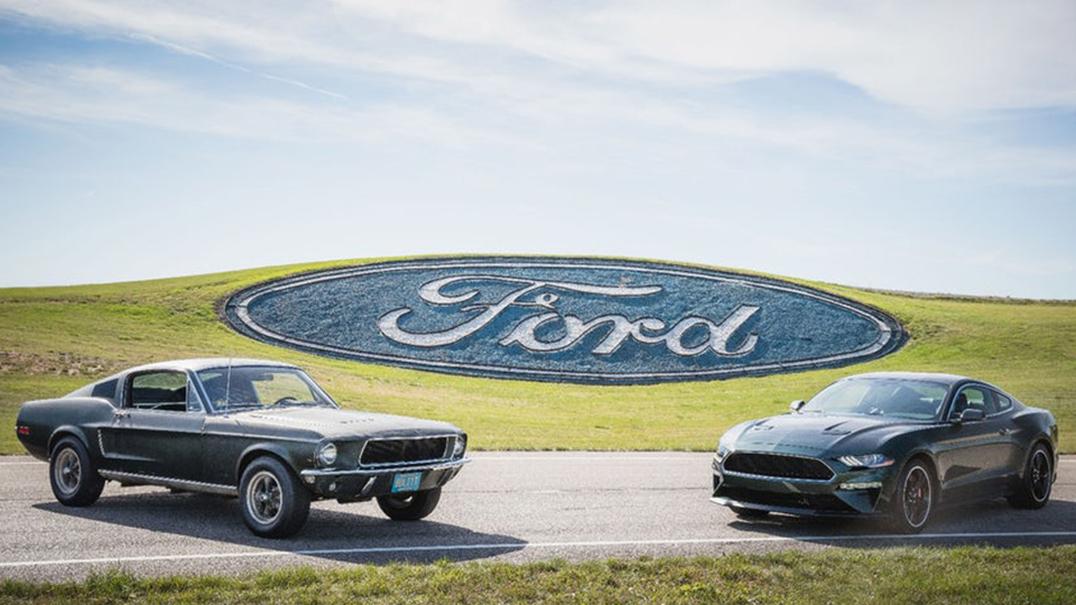 Bullit está volta. Ford faz homenagem a Steve McQueen com 474 cavalos