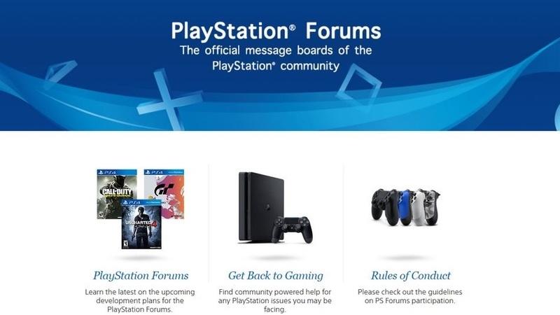Sony anuncia que vai fechar os fóruns do site PlayStation.com dia 27 de fevereiro