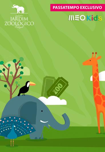 Temos convites quádruplos para o Jardim Zoológico