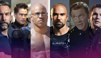 """Do cinema para a TV: Descubra as diferenças entre os atores das várias versões de """"S.W.A.T."""""""
