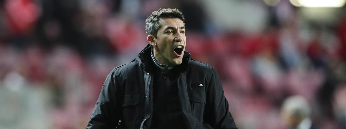 """Bruno Lage: """"Já diziam que o Jorge Jesus vinha substituir o Rui Vitória. Aconteceu? Não"""""""