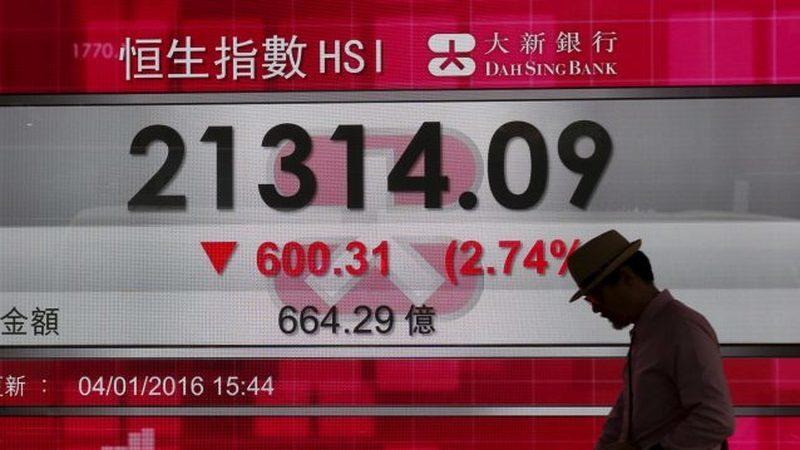 Bolsas com maior queda desde crise de 2008 devido aos receios com o Covid-19