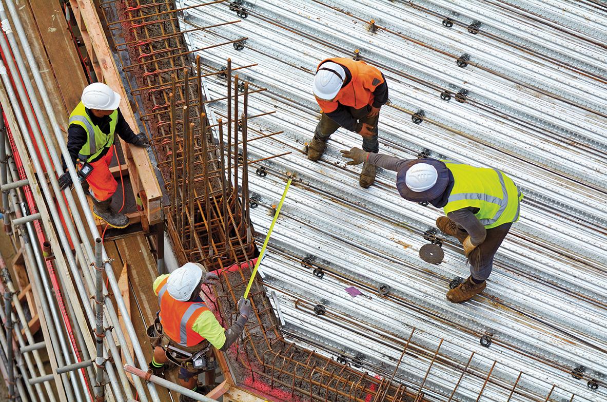 Construção continua a crescer mas longe dos níveis pré-crise