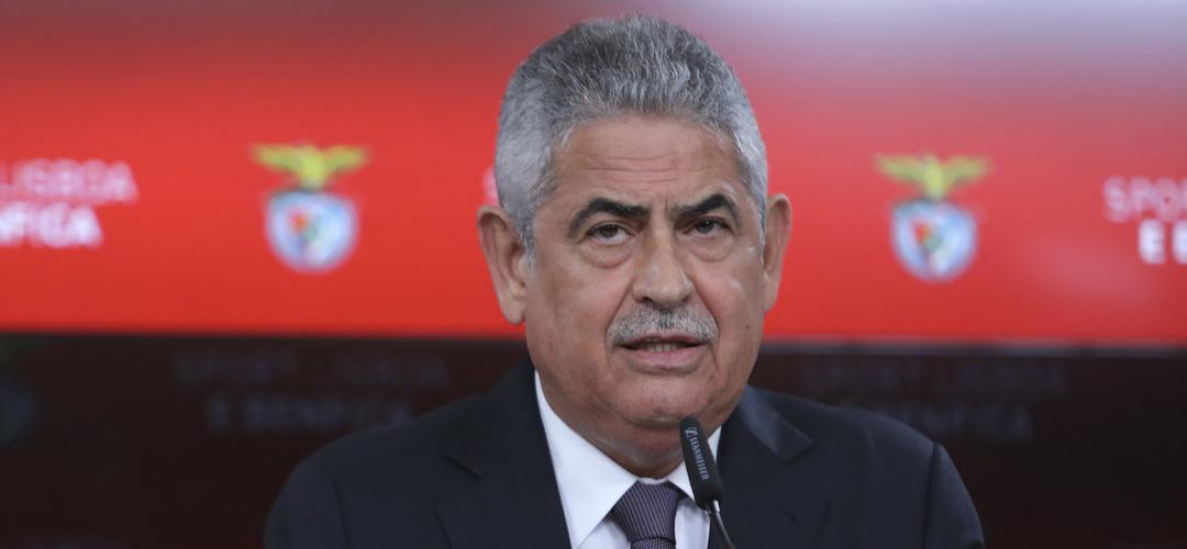 """Luís Filipe Vieira: """"Aqui não existe necessidade de intervenções da UEFA nem credores à porta"""""""