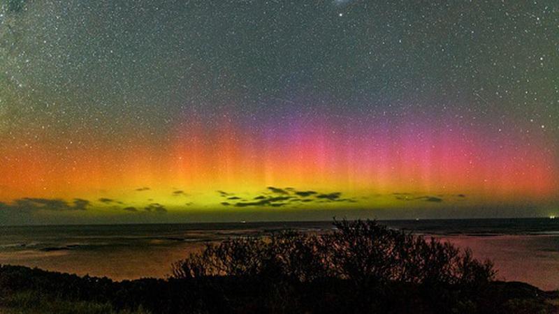 Aurora austral: é tão perfeito, que quase parece mentira