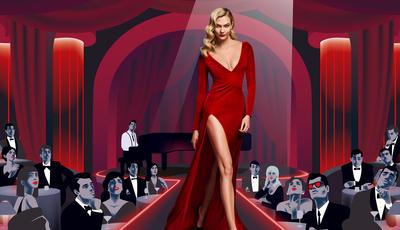 Karlie Kloss transforma-se em femme fatale na campanha deste novo perfume