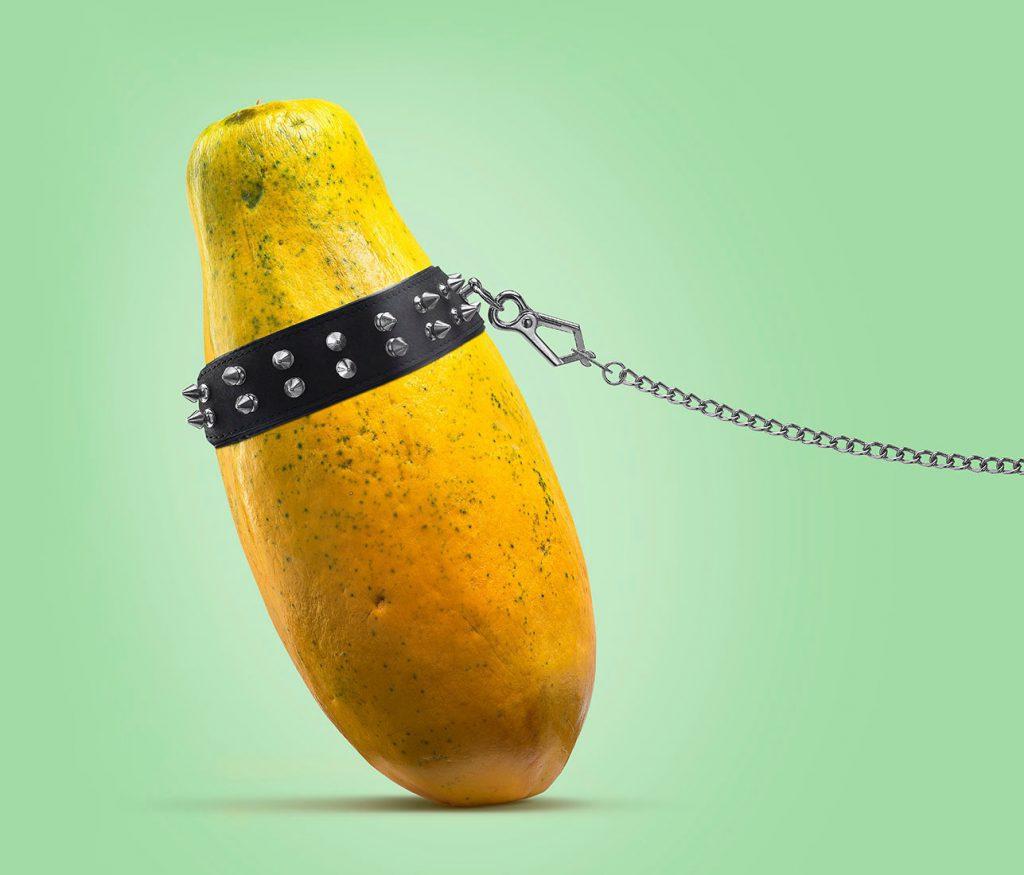 A fruta é provocante e fotógrafo alemão leva isso à letra
