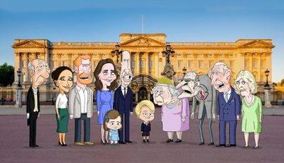"""""""The Prince"""": HBO vai ter série satírica sobre a família real britânica com o príncipe George e a """"moderna tia Meghan"""""""