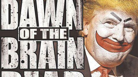 Tablóide retrata Trump como palhaço vilão. Candidato não se fica