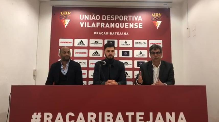 Stephane Sparagna reforça Vilafranquense