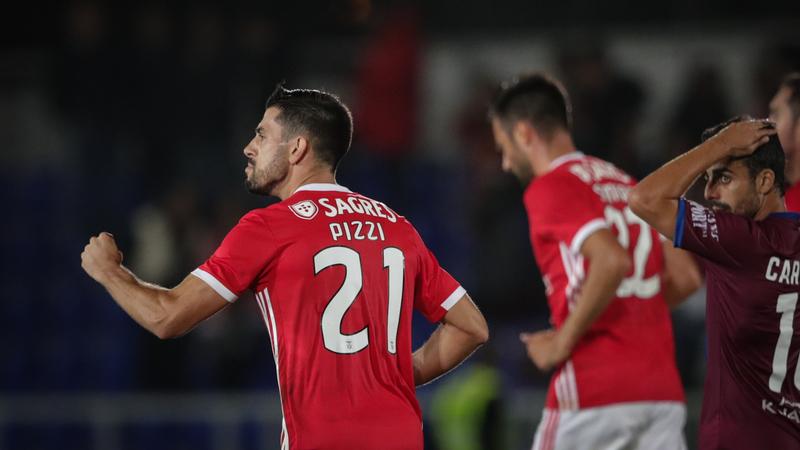 Cova da Piedade 0-2 Benfica: Pizzi bisa