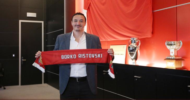 Ristovski vem de Barcelona com 'ganas' de conquistar o título de andebol no Benfica