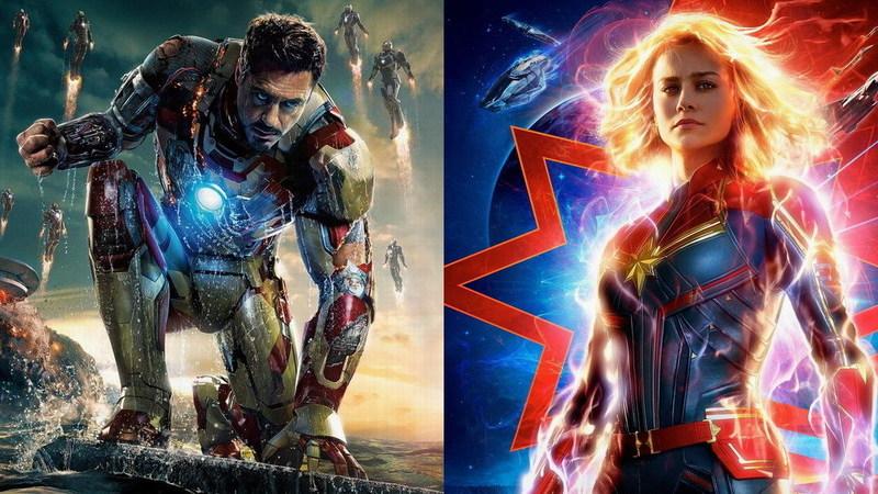 """""""Homem de Ferro 3"""" ou """"Capitão Marvel""""? Debate sobre pior filme da Marvel aquece redes sociais"""
