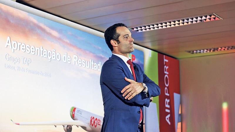 """Antonoaldo Neves: """"A TAP não vai crescer durante pelo menos os próximos dois anos"""""""