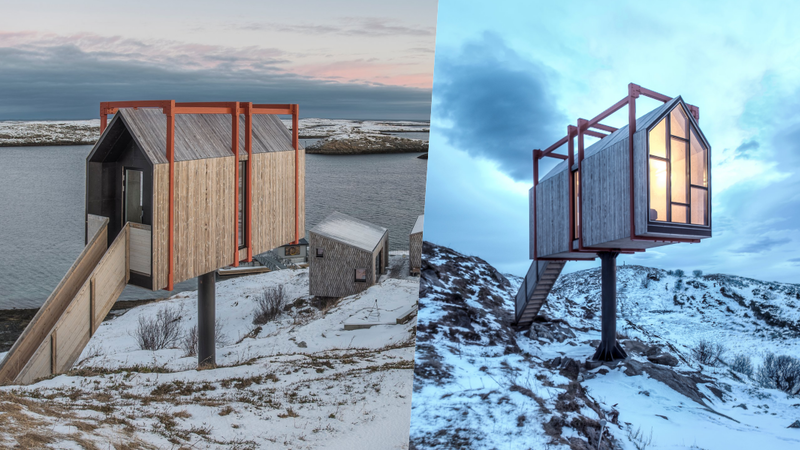Pode alugar uma ilha na Noruega com vista privilegiada para as Luzes do Norte por menos do que imagina