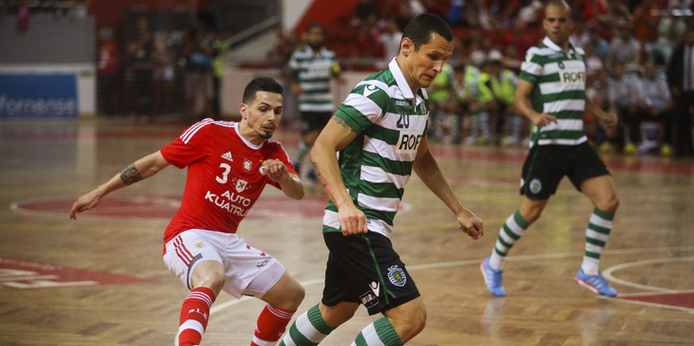 Futsal: Sporting empata na Luz e mantem-se invicto no campeonato