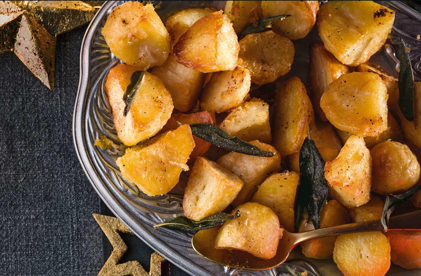 É hoje o dia em que vai conseguir as batatas assadas perfeitas