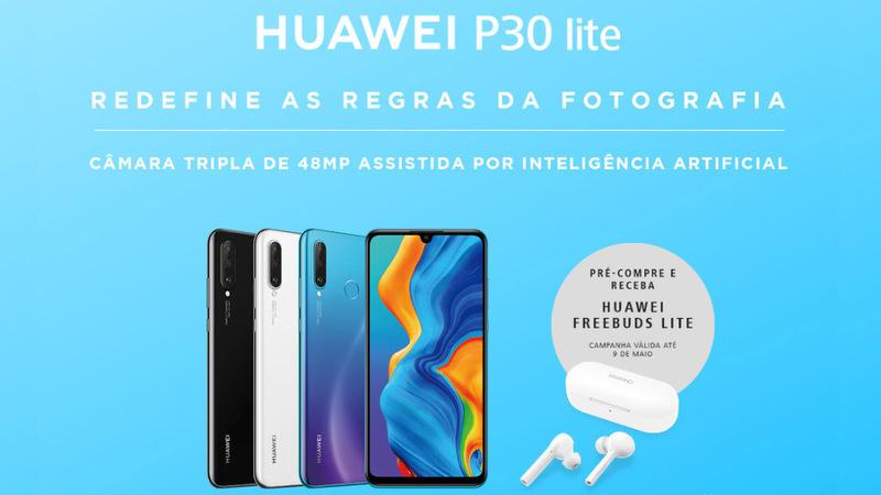 Huawei P30 Lite chega a Portugal por 379€ com oferta dos FreeBuds