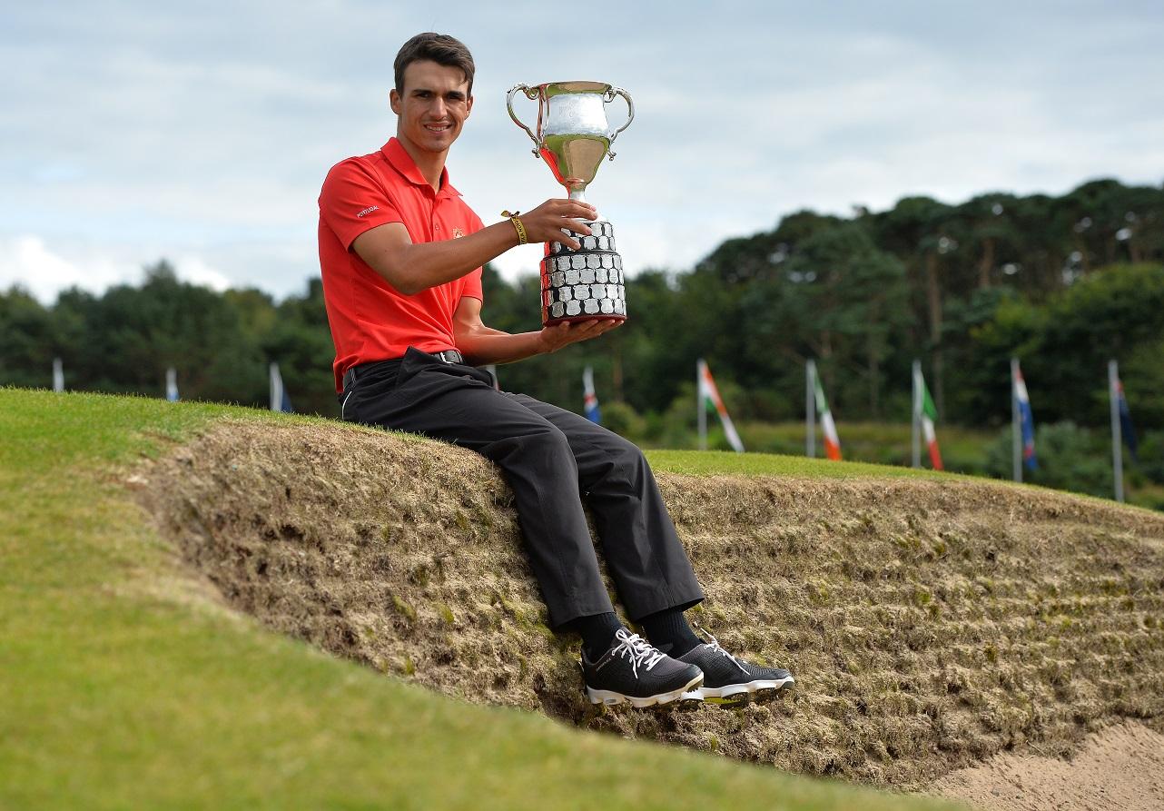 Pedro Lencart, golfista português, vence The Boys Amateur Championship