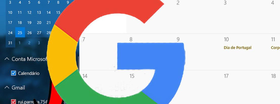 How to TEK: Como sincronizar a agenda da Google com a app do Windows 10