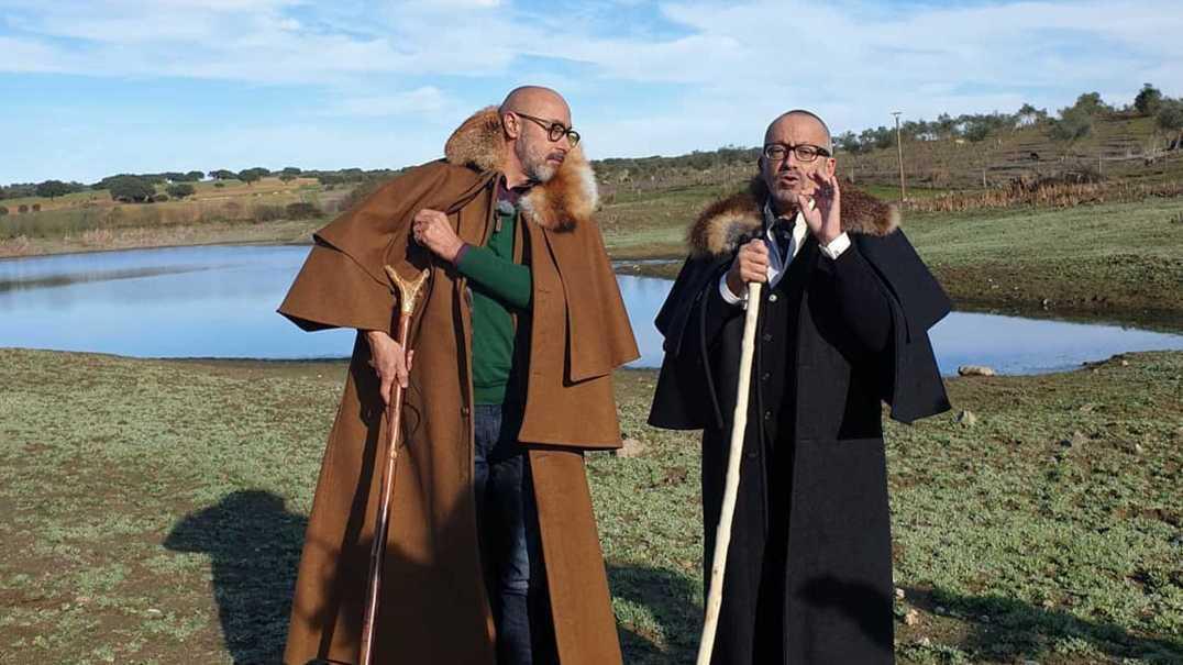 No monte de Manuel Luís Goucha já se ouve cante alentejano