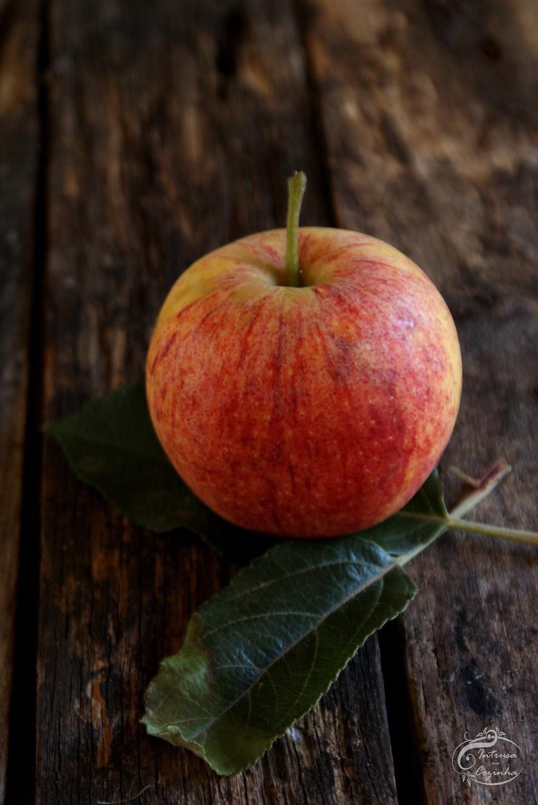 """Com setembro chegam suculentas maçãs ao """"Intrusa na Cozinha"""""""