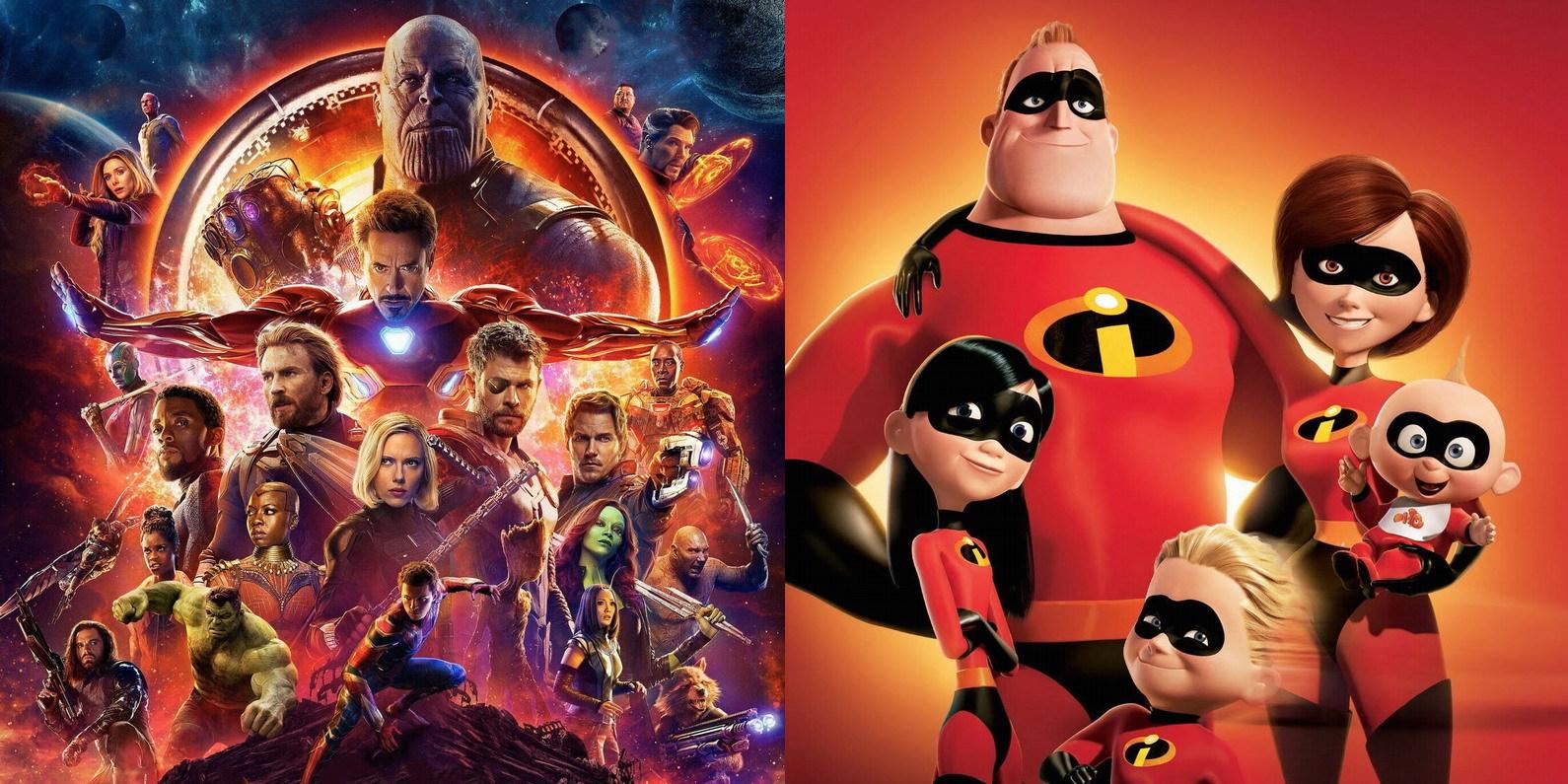 Império Disney ajuda indústria cinematográfica a ter recorde de lucros em 2018